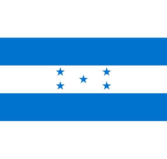 Honduras Flag And Coat Of Arms Svg Png Honduran Central Etsy