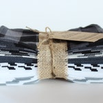"Reusable CLOTH WIPES set of 30, 7""x8"" 100% cotton"