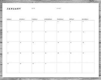 monthly calendar to download