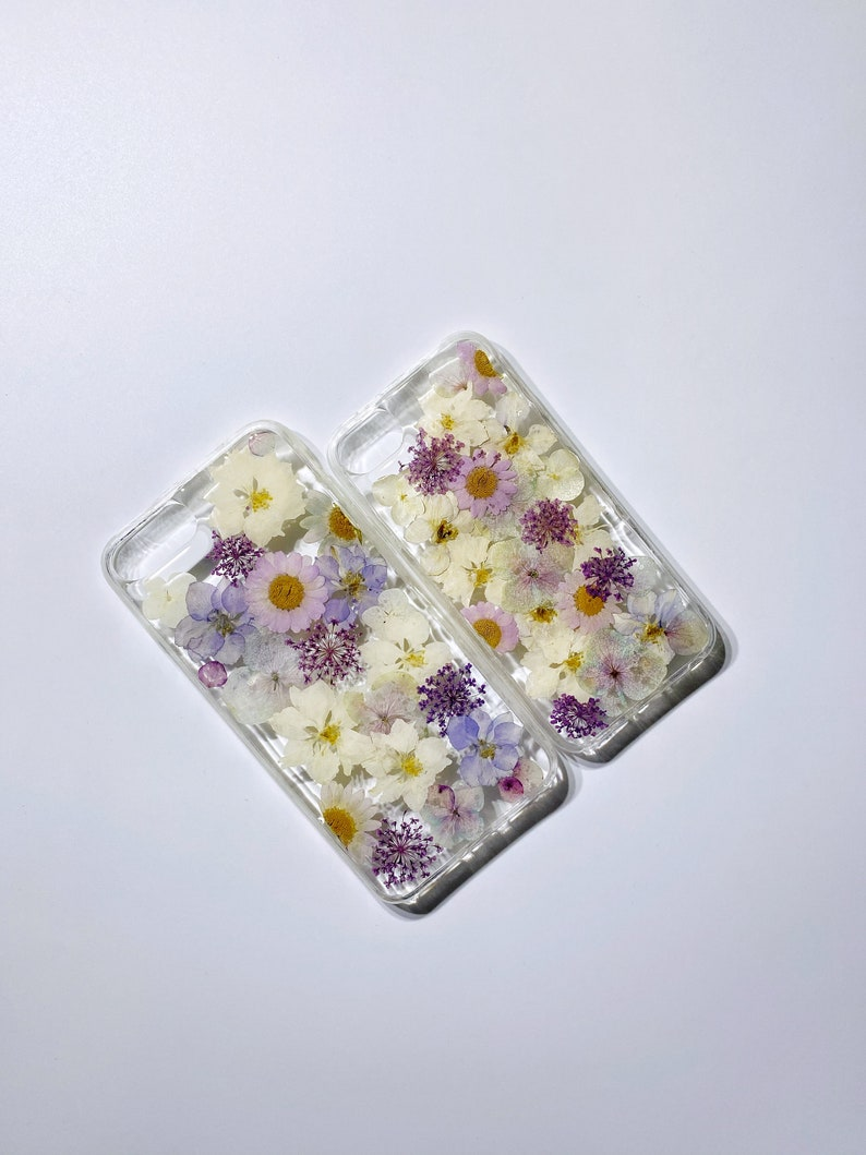 dried flower case,iPhone x 6 6s 7 8 Plus se Xr Xs MaxSamsungHuaweiOPPOVIVO iPhone 12 pro max,Protective Case,Hand Pressed Flower case
