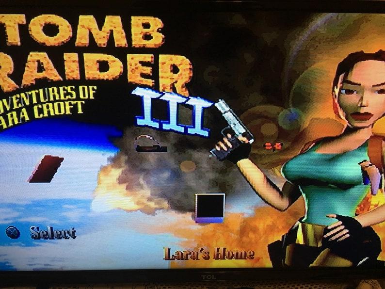 f1da70837f8f40 Tomb Raider 3 Adventures Of Lara Croft PlayStation PS1