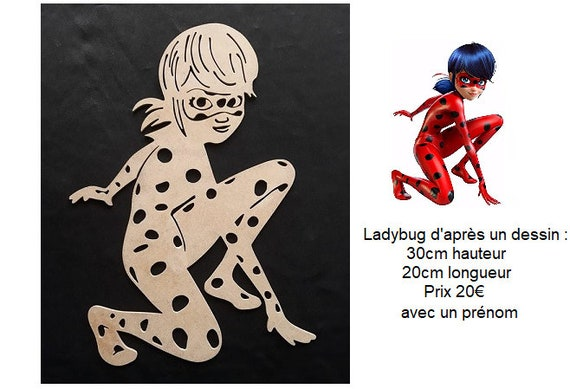 Miraculous Ladybug Name Of Your Choice Etsy
