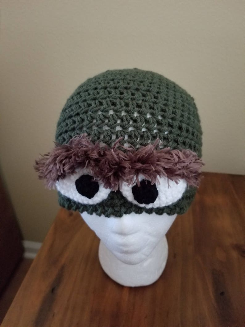 3a924740bd3 Oscar the Grouch beanie