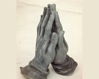Praying Hands, Albrecht Dürer Sculpture, Art Figurine, Study of the Hands of an Apostle, Spiritual Gift, For Him, For Her, Christian