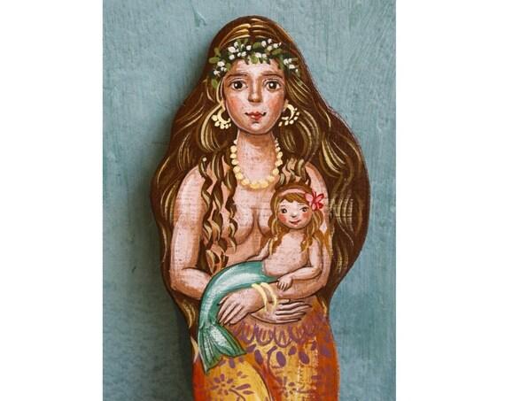 Mermaid Mother