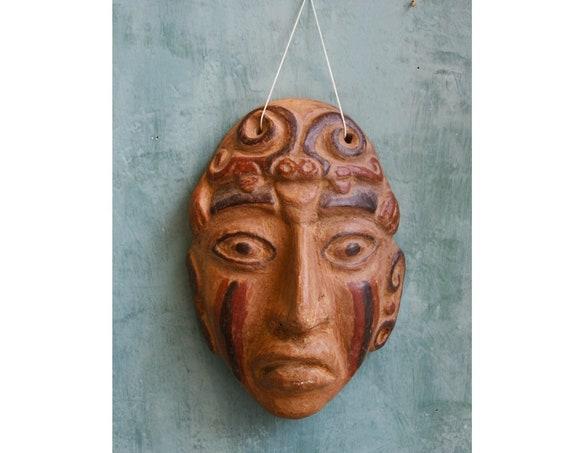 Handmade Ceramic Ethnic Mask