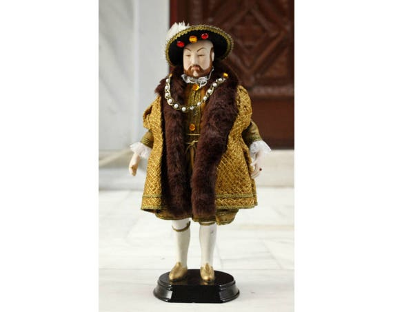 Doll of Henry VIII of England