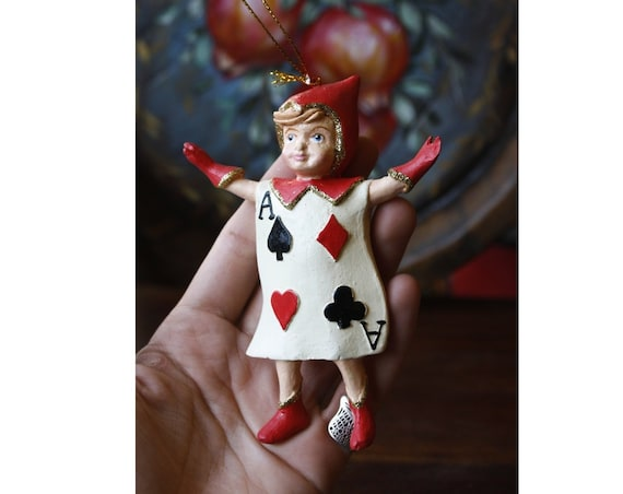 Little Ace Card Boy Ornament