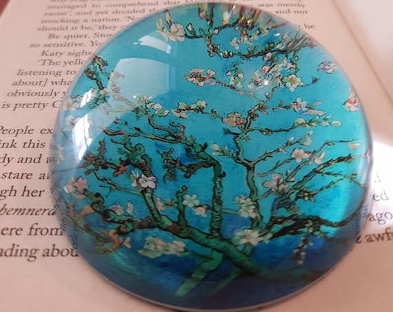 Almond Blossom Paperweight