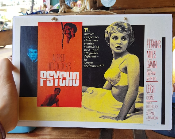 Psycho Wooden Sign
