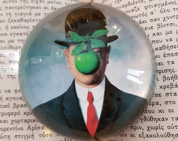 The Son of Man Paperweight