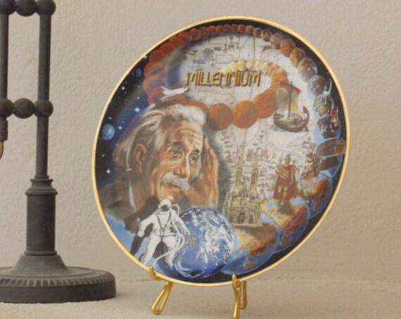 Einstein Millennium Space plate