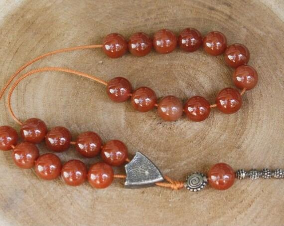 Carnelian Worry Beads