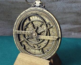 Astrolabe, Navigation device, Star Observation, Astrolabio, Vintage Naval Decoration, Naval Instrument