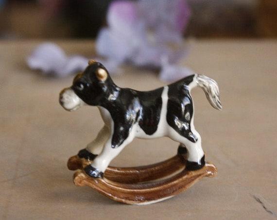 Little Porcelain Cow