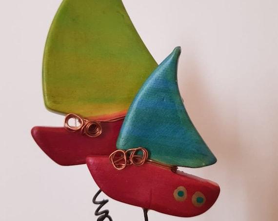Ceramic Boats