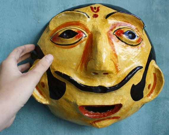 Face Wall Hanging Mask
