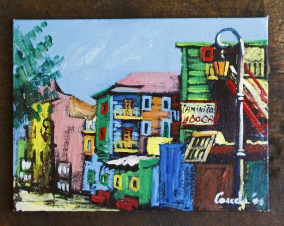 Caminito La Boca Original Painting