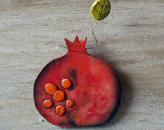 Ceramic Pomegranate Stand
