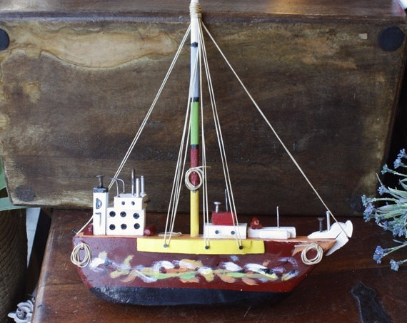 Handmade Wooden Ship