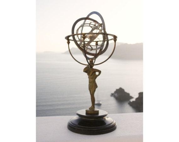 Atlas Globe Armillary Sphere