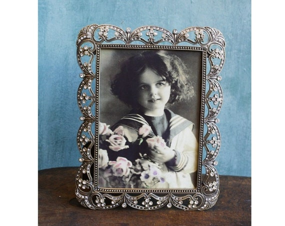 Rhinestone Picture Frame