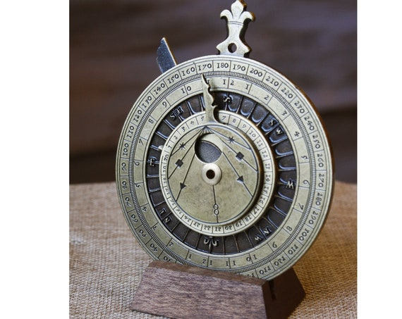 Astrolabe, Navigation Device, Astronomy Lover, Abacus, Navigation Instrument, Naval, Marine Art, Nautical Device