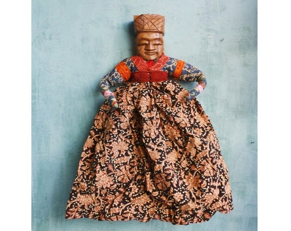 Vintage India Wall Hanging Doll