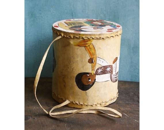 Ethiopian Leather Drum