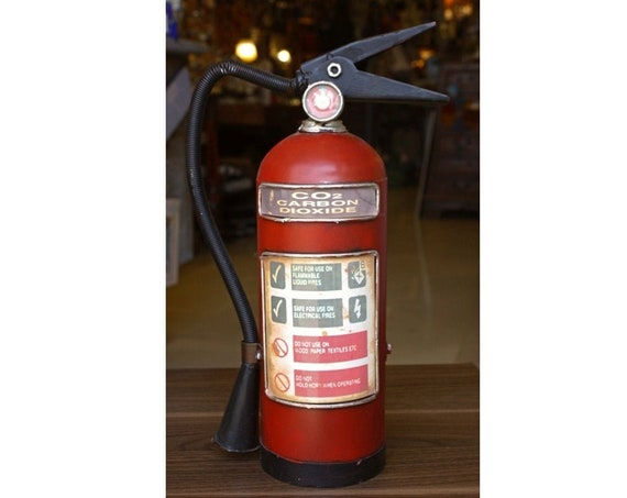 Little Fire Extinguisher Money box