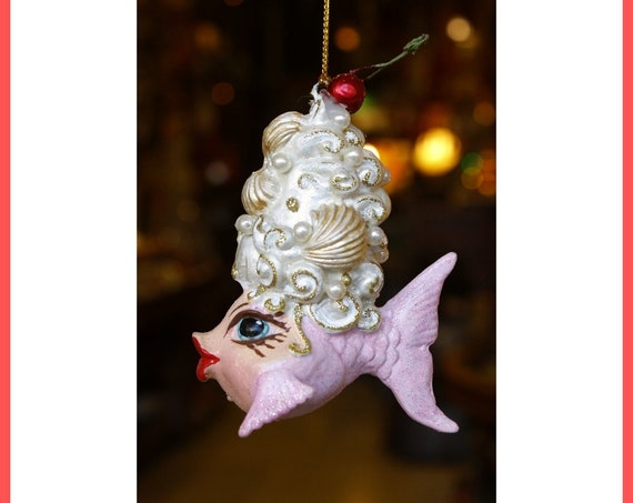 Marie Antoinette Fish Ornament