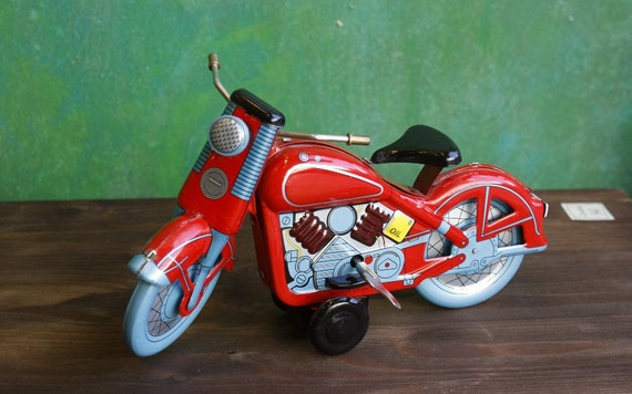 Tin Toy Motorcycle