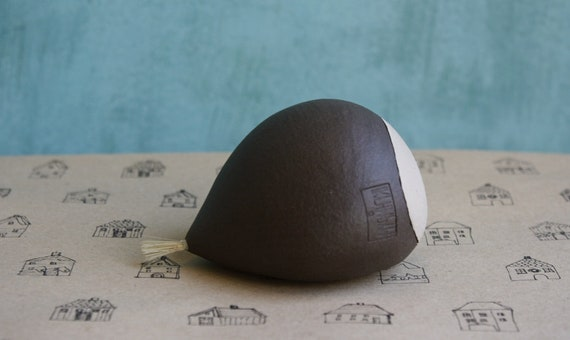 Handmade Ceramic Chestnut