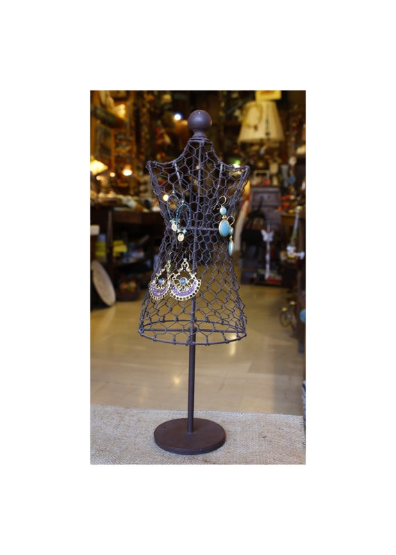 Vintage Jewelry Holder Mannequin