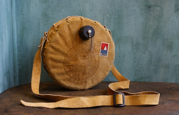 Vintage Leather Canteen