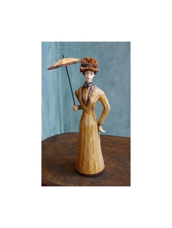 Victorian Girl Figurine