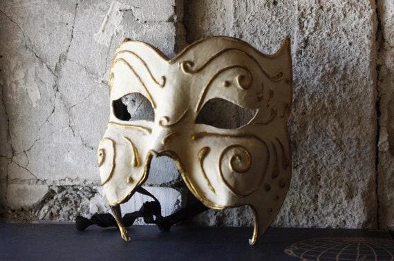 Vintage Venetian Handmade Face Mask