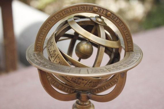 Solid Brass Armillary sphere