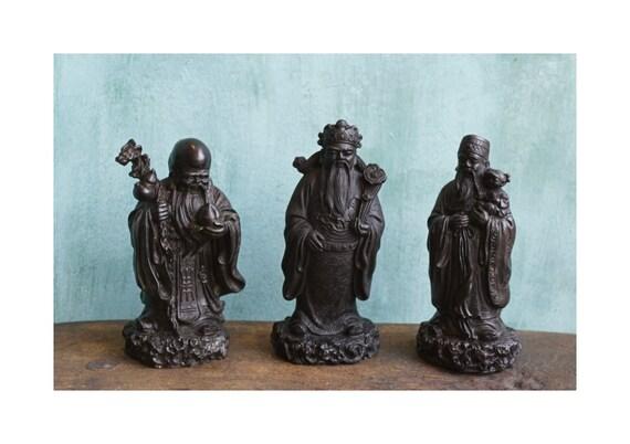Handmade Lot Of Three Wise Men