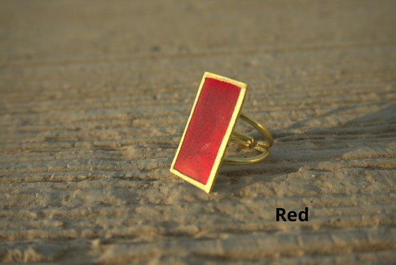 Handmade Square Ring