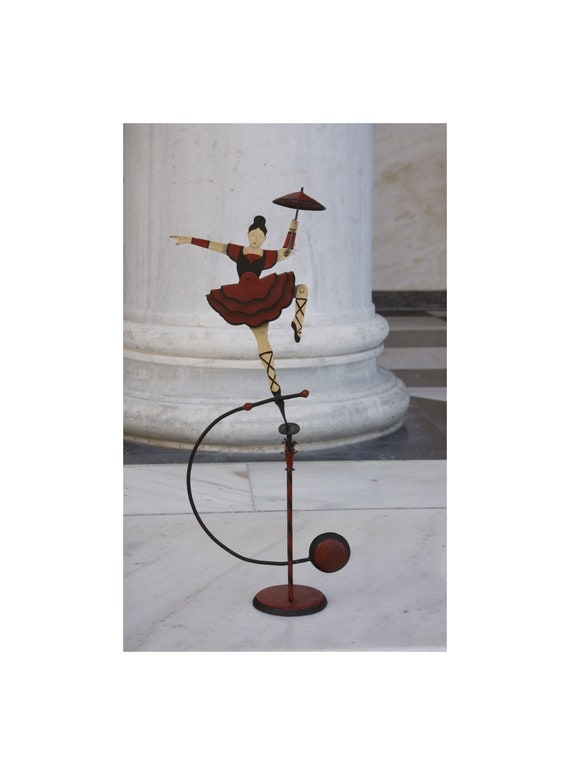 Handmade Ballerina Balance Toy