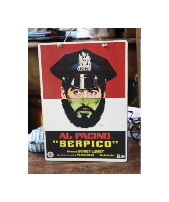 Serpico Wooden Sign