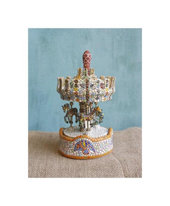 Handmade Vintage Carousel