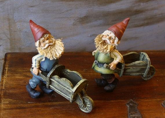 Set of Two Dwarfs Figurines