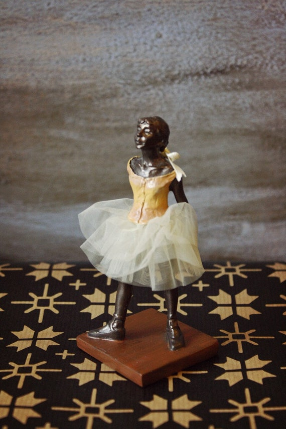 Little Dancer of Fourteen Years by  Edgar Degas