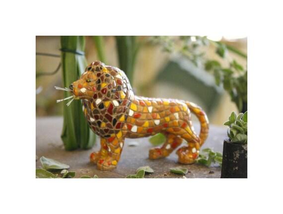 Mosaic Lion