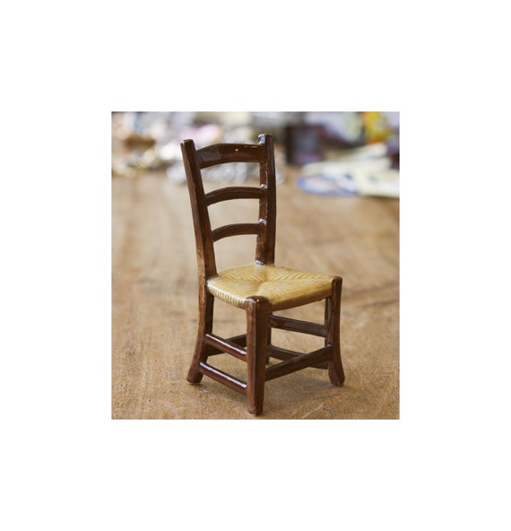 Porcelain Chair Miniature
