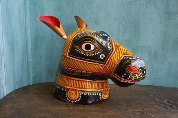 Horse Papier-mâché Mask