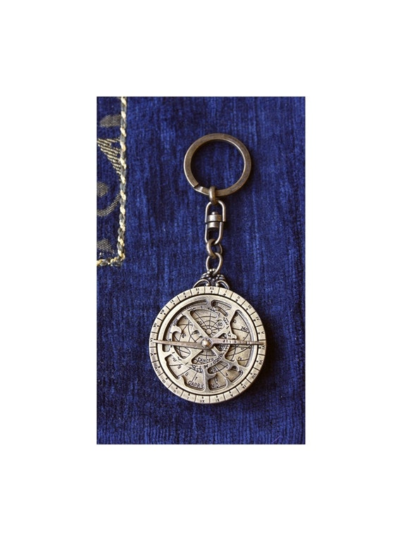 Astrolabe Mares Keychain
