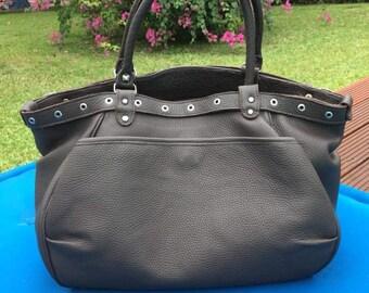 Leather handbag / leather / handbag / holder arm / Interior wax / trendy bag